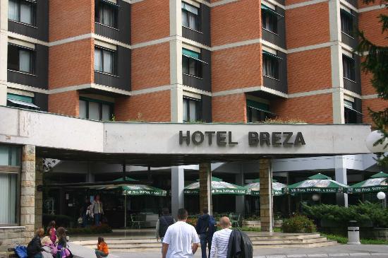 vrnjacka banja - hotel Breza