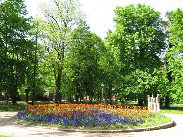 slika uredjenje parkova u vrnjackoj banji