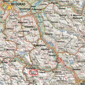 mapa-srbije-putni-pravci-do-vrnjacke-banje