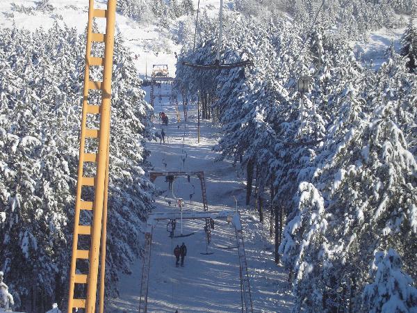 ski lift na gocu