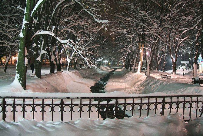 vrnjacka banja pod snegom