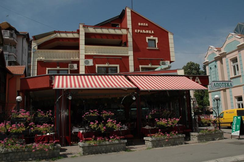 Vrnjačka Banja restoran kraljica
