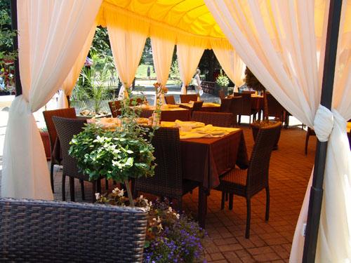 restoran Vila San - Vrnjacka Banja