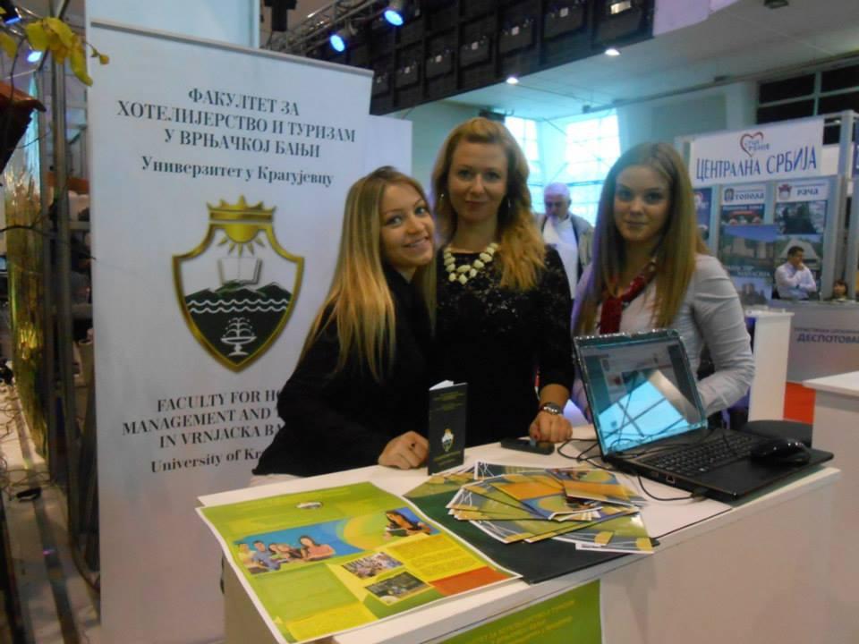 Fakultet za hotelijerstvo na Sajmu turizma u Kragujevcu